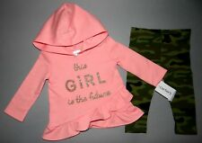 Baby girl clothes, 2T, Carter's 2 piece pant set/SEE DETAILS ON SIZE