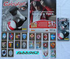 Calciatori Panini 2007/2008/08 Album vuoto+1 set completo+aggiornamenti edicola