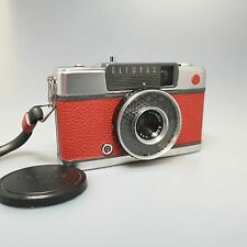 Olympus PEN-EE customised with Red leather  SERVICED & fully tested with film