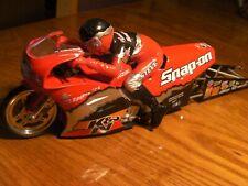 "Pro Stock Motorcycle (bike) Mac Tools Suzuki ""Snap-on"" Steve Johnson 1/9 scale"