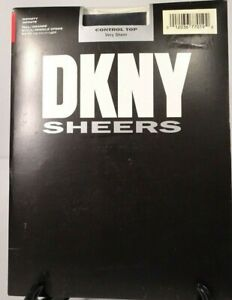 """DKNY Sheers Pantyhose """"Control Top Very Sheer"""" / """"Infinity"""" Color / Sz Tall /NWT"""