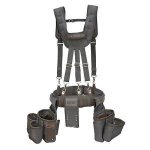 Estwing 13 Pocket Framer's Suspension Rig Tool Belt Pouch Apron Set 94745