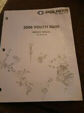 2006 Youth 50 90 Oem Polaris Factory Service Manual Atv Side By Side