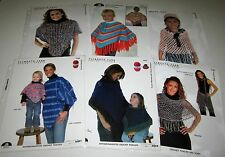 "Plymouth Boku KNITTING PATTERN #1167 Men/'s Pullover Sweater 36-50/"" Easy Knit!"