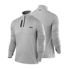 TCA Fusion Half-zip Running Top Grey Marl XL Td182 QQ 09