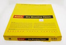 "Kodak Dry Mount Tissue 8 x 10"""