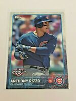 2015 Topps Opening Day Baseball Base Card - Anthony Rizzo - Chicago Cubs
