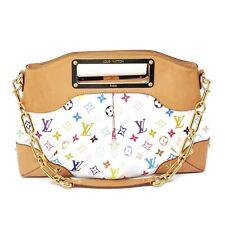 100% Auth Louis Vuitton Judy MM Multicolor ShoulderBag