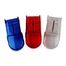 Portable Storage Box Medicine Splitter Divider Pill Holder New Tablet Cutter