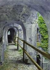 1910, Dungeon Gallery, Keep of Castle Rising, England, Magic Lantern Glass Slide