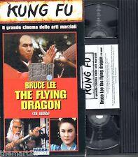 The Flying Dragon Bruce Lee (1977) - VHS Fabbri editori Video -  Kung Fu