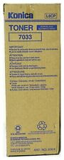 Konica Minolta Genuine/Original 7033 Black Copier Toner/Ink L6CP 000X *NEW*