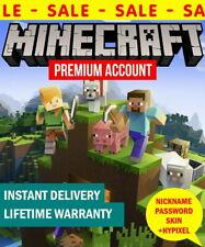 Minecraft Java Edition Code ✅ Premium Account  ✅ Instant delivery ✅ Warranty ✅