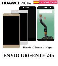"""Pantalla Completa para """"Huawei P10 Lite"""" Negra Blanca (LCD + Tactil) Display"""
