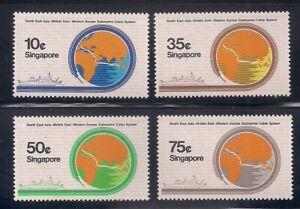 Singapore   1986   Sc # 491-94   MNH   (8131-4)