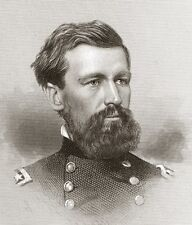 Congressional Medal of Honor General OLIVER O. HOWARD 1867 engraving O'Neill sc