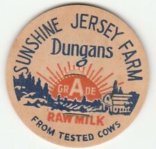 MILK BOTTLE CAP. SUNSHINE JERSEY FARM. MAVERICK. DAIRY. REPRODUCTION