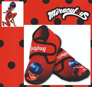 Miraculous Ladybug warme Hausschuhe Kinder Pantoffeln Mädchen Indoor 24-29