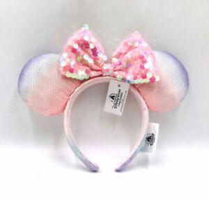 Exclusive Resort Sakura Pink Shanghai 2020 Minnie Ears Disney Parks Headband