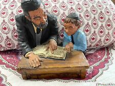 Very Rare Numbered 1970 Kaplan Rabbi And Student Numbered 204/500