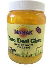Nanak Pure Desi Ghee (56OZ) Clarified Butter 3.5LB