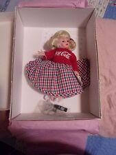 Madame Alexander Coca-Cola Sock Hop Doll - 26225 - Still Attached in Box. B