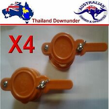 HONEY GATE VALVE,  BEEKEEPING TAP EASY FIT X 4   BEE KEEPING. APIARY EQUIPMENT