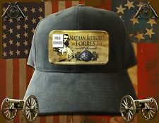 NEW Confederate General Nathan Bedford Forrest designed hat/cap