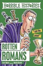 HORRIBLE HISTORIES: ROTTEN ROMANS by Terry Deary  NEW