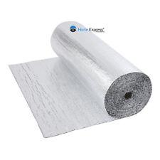 Double Foil Single Bubble Wrap Aluminum Insulation Roll 1.2m x 50m Attic Roof