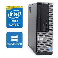 Dell Optiplex 9020 Small Form Quad i7 4770 3.4Ghz 16GB RAM 2TB Windows 10