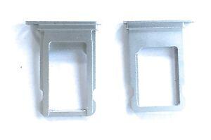 Simkarten Halter für iPhone 7 und 7 plus SIM Slot Nano Tray Holder Silber