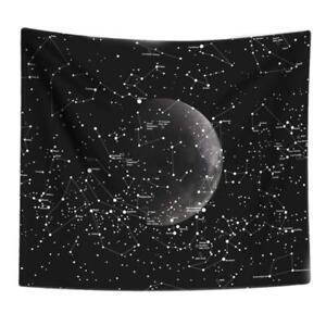 Starry Sky Tapestry Galaxy Blanket Home Bedroom Hanging Wall Art Decor (XL) @T