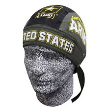 US Army Military Bandanna Biker Doo Do Du Rag Head wrap Skull cap Capsmith Hat