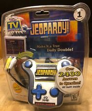 Jeopardy Plug and Play Electronic Handheld TV Game Brand New Jakks Pacific