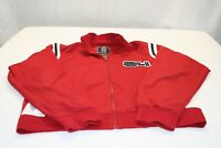 Vintage Jack Track and Field Mens Full Zip 2 XL Track Jacket 84 Sport Ships Free