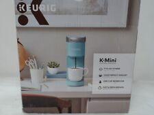 Single Serve Mini Coffee Maker, Aqua