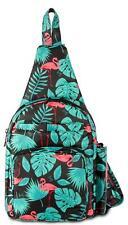 Lug Archer Flamingo Black Small Crossbody Bag/backpack RFID Protection