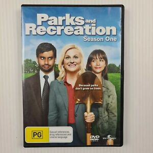 Parks and Recreation - Season One - Series 1 - DVD - Region 4 - TRACKED POST