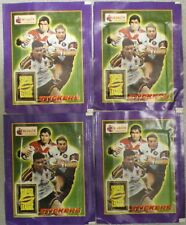 MERLIN TOPPS SUPER LEAGUE 1997 RUGBY STICKER PACKETS = 4 x UNOPENED Packets