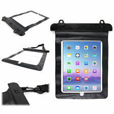 Secure Black Waterproof Dry Holder With Neck Strap Suits Apple New iPad 3, 2 & 2