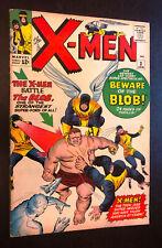 Uncanny X-MEN #3 (1964 Marvel) -- 1st Appearance THE BLOB -- F-/F