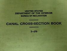 U.S. Department Of Interior Canal Section Handbook Journal Bureau Reclamation
