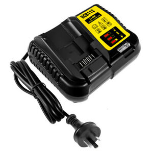 10.8-18V Li-ion Battery Charger for Dewalt DCB105 DCB200 DCB120 DCB115 DCB112