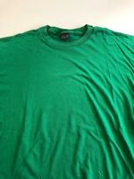 Vtg 90s Jansport Blank T Shirt Sz XL Green Single Stitch Tee S/S Cotton USA Made