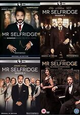 Mr Selfridge Complete Collection 1-4 DVD All Seasons 1 2 3 4 Original UK NEW R2