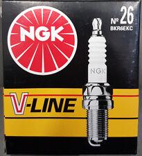 4 x NGK V-Line 26 BKR6EKC 6895 Zündkerze Fiat Lancia #