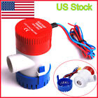 1100GPH 12V Electric Marine Submersible Bilge Sump Water Pump Fit Boat Yacht New photo