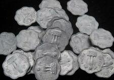 India 2 Paise 1967 Calcutta UNC lot of 25 coins