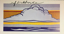 ROY LICHTENSTEIN SIGNED * CLOUD AND SEA * PRINT